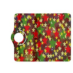 Star Abstract Multicoloured Stars Background Pattern Kindle Fire HDX 8.9  Flip 360 Case