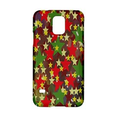 Star Abstract Multicoloured Stars Background Pattern Samsung Galaxy S5 Hardshell Case