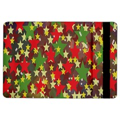 Star Abstract Multicoloured Stars Background Pattern iPad Air 2 Flip