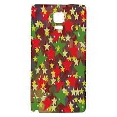 Star Abstract Multicoloured Stars Background Pattern Galaxy Note 4 Back Case