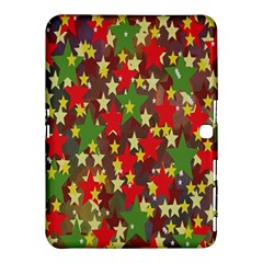 Star Abstract Multicoloured Stars Background Pattern Samsung Galaxy Tab 4 (10 1 ) Hardshell Case