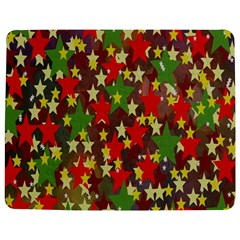 Star Abstract Multicoloured Stars Background Pattern Jigsaw Puzzle Photo Stand (rectangular)