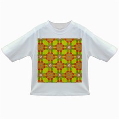 Floral Pattern Wallpaper Background Beautiful Colorful Infant/Toddler T-Shirts