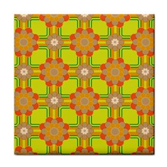 Floral Pattern Wallpaper Background Beautiful Colorful Face Towel