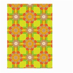 Floral Pattern Wallpaper Background Beautiful Colorful Large Garden Flag (Two Sides)