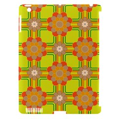 Floral Pattern Wallpaper Background Beautiful Colorful Apple iPad 3/4 Hardshell Case (Compatible with Smart Cover)