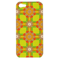 Floral Pattern Wallpaper Background Beautiful Colorful Apple iPhone 5 Hardshell Case