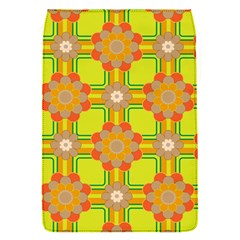 Floral Pattern Wallpaper Background Beautiful Colorful Flap Covers (S)