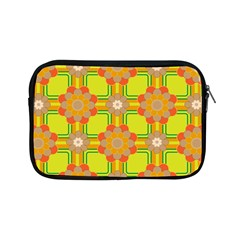 Floral Pattern Wallpaper Background Beautiful Colorful Apple iPad Mini Zipper Cases