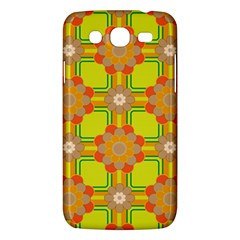 Floral Pattern Wallpaper Background Beautiful Colorful Samsung Galaxy Mega 5.8 I9152 Hardshell Case
