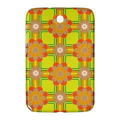 Floral Pattern Wallpaper Background Beautiful Colorful Samsung Galaxy Note 8 0 N5100 Hardshell Case