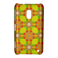 Floral Pattern Wallpaper Background Beautiful Colorful Nokia Lumia 620