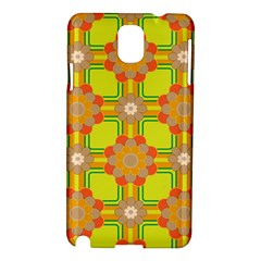 Floral Pattern Wallpaper Background Beautiful Colorful Samsung Galaxy Note 3 N9005 Hardshell Case