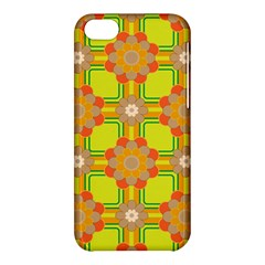 Floral Pattern Wallpaper Background Beautiful Colorful Apple iPhone 5C Hardshell Case