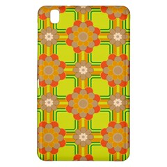 Floral Pattern Wallpaper Background Beautiful Colorful Samsung Galaxy Tab Pro 8.4 Hardshell Case