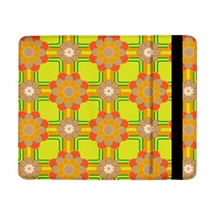 Floral Pattern Wallpaper Background Beautiful Colorful Samsung Galaxy Tab Pro 8.4  Flip Case