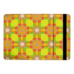 Floral Pattern Wallpaper Background Beautiful Colorful Samsung Galaxy Tab Pro 10 1  Flip Case