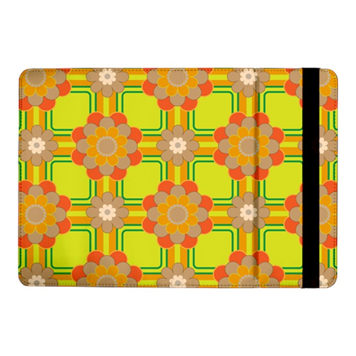 Floral Pattern Wallpaper Background Beautiful Colorful Samsung Galaxy Tab Pro 10.1  Flip Case