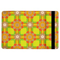 Floral Pattern Wallpaper Background Beautiful Colorful iPad Air Flip