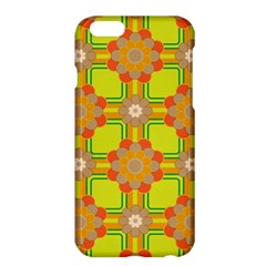 Floral Pattern Wallpaper Background Beautiful Colorful Apple iPhone 6 Plus/6S Plus Hardshell Case