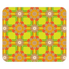 Floral Pattern Wallpaper Background Beautiful Colorful Double Sided Flano Blanket (Small)