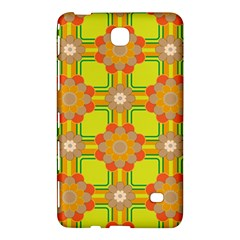 Floral Pattern Wallpaper Background Beautiful Colorful Samsung Galaxy Tab 4 (7 ) Hardshell Case