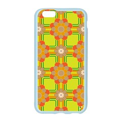 Floral Pattern Wallpaper Background Beautiful Colorful Apple Seamless iPhone 6/6S Case (Color)