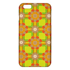 Floral Pattern Wallpaper Background Beautiful Colorful iPhone 6 Plus/6S Plus TPU Case