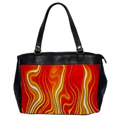 Fire Flames Abstract Background Office Handbags