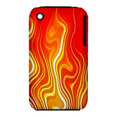 Fire Flames Abstract Background iPhone 3S/3GS