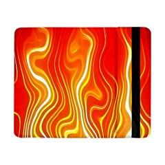 Fire Flames Abstract Background Samsung Galaxy Tab Pro 8.4  Flip Case