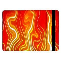 Fire Flames Abstract Background Samsung Galaxy Tab Pro 12.2  Flip Case