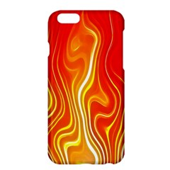 Fire Flames Abstract Background Apple iPhone 6 Plus/6S Plus Hardshell Case