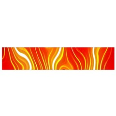 Fire Flames Abstract Background Flano Scarf (small)