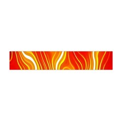 Fire Flames Abstract Background Flano Scarf (Mini)