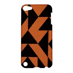 Brown Triangles Background Apple iPod Touch 5 Hardshell Case