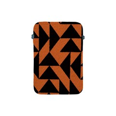 Brown Triangles Background Apple Ipad Mini Protective Soft Cases