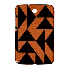 Brown Triangles Background Samsung Galaxy Note 8 0 N5100 Hardshell Case