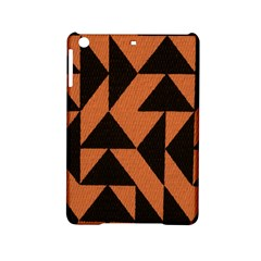 Brown Triangles Background iPad Mini 2 Hardshell Cases