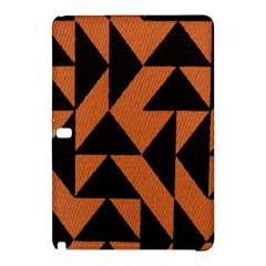 Brown Triangles Background Samsung Galaxy Tab Pro 10.1 Hardshell Case