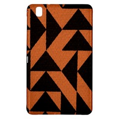 Brown Triangles Background Samsung Galaxy Tab Pro 8.4 Hardshell Case
