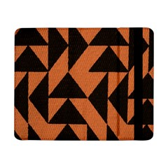 Brown Triangles Background Samsung Galaxy Tab Pro 8 4  Flip Case