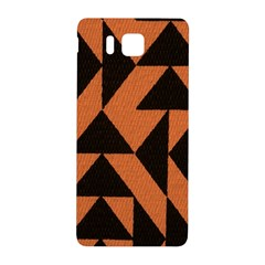 Brown Triangles Background Samsung Galaxy Alpha Hardshell Back Case