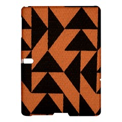 Brown Triangles Background Samsung Galaxy Tab S (10.5 ) Hardshell Case