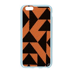 Brown Triangles Background Apple Seamless iPhone 6/6S Case (Color)