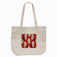 Leaves Pattern Background Pattern Tote Bag (Cream)