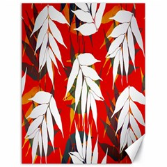 Leaves Pattern Background Pattern Canvas 18  X 24