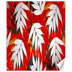Leaves Pattern Background Pattern Canvas 20  X 24