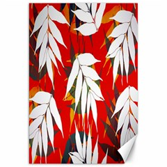 Leaves Pattern Background Pattern Canvas 20  X 30