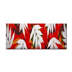 Leaves Pattern Background Pattern Cosmetic Storage Cases